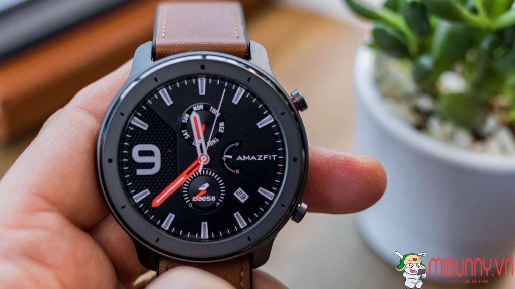 đánh giá đồng hồ thông minh xiaomi Amazfit GTR