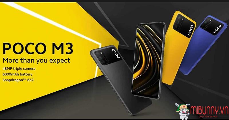 Điện thoại Xiaomi Poco M3