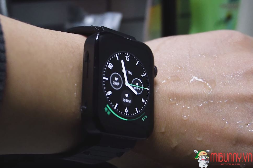 mi watch chống nước
