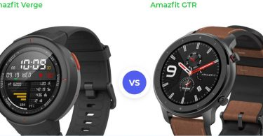 so sánh Amazfit Verge vs Amazfit GTR
