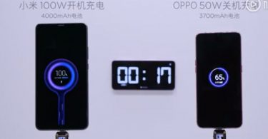 xiaomi ra mắt sạc 100w năm 2020