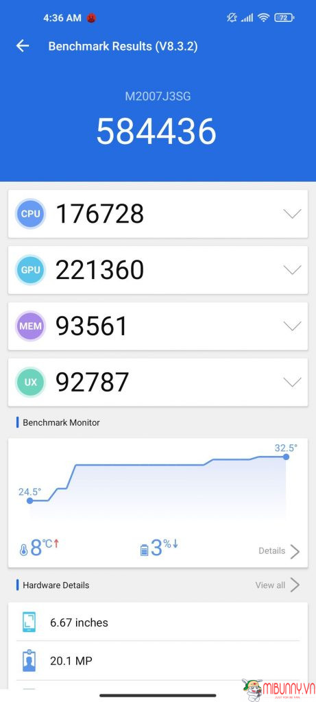 Hiệu suất Xiaomi Mi 10T Pro