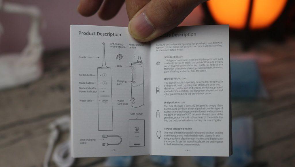 máy tăm nước Xiaomi Soocas W3
